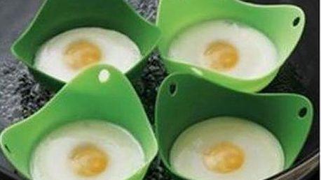 Misky na vaření vajec bez skořápky 2ks