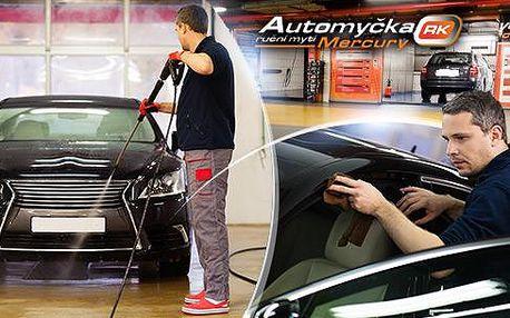 Automyčka Mercury - čisticí programy pro vaše auto dle výběru s ručním mytím. Od základního až exkluzivní čištění!