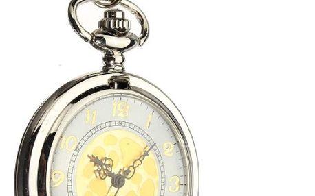 Kapesní hodinky se zdobeným víkem