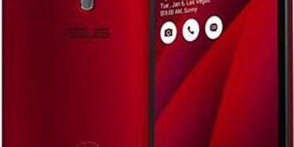 ASUS ZenFone 2 Z3580/32G/4G/LTE/A5.0 červený ; 90AZ00A3-M04500
