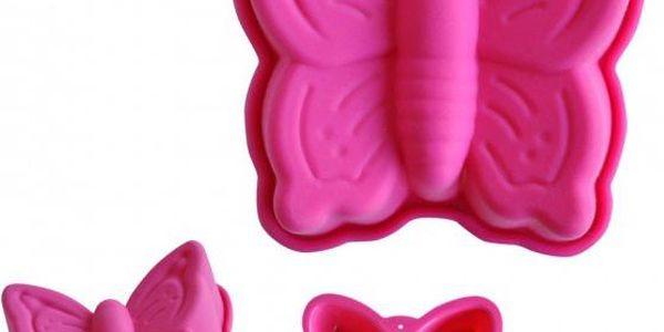 Silikonová mini forma na pečení Motýl