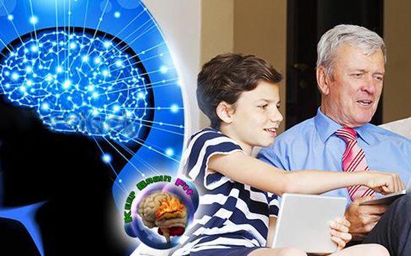 Aplikace na trénink mozku Keep Brain Fit - členství v klubu na 4 měsíce bez rozdílu věku + 4 hry zdarma!