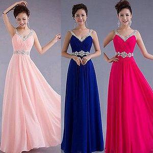 Plesové šaty s kamínky - 4 barvy