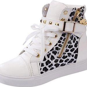 Tenisky leopard - 2 barvy