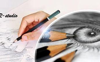 Víkendový kurz kreslení pravou mozkovou hemisférou včetně pomůcek! Termíny do června 2016!