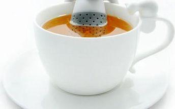 Čajové sítko Král čaje - pijte zdravé sypané čaje!