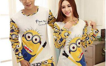 Dámské a pánské pyžamo Mimoni