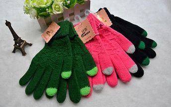 Dotykové rukavice na mobil Grid!