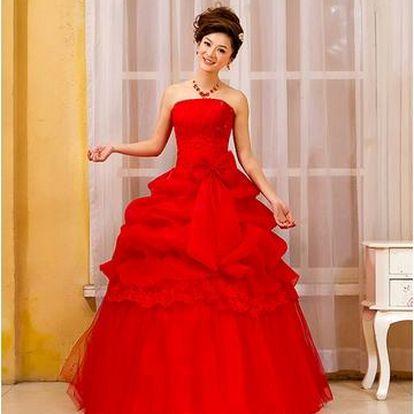 Luxusní plesové maturitní šaty - 6 velikostí