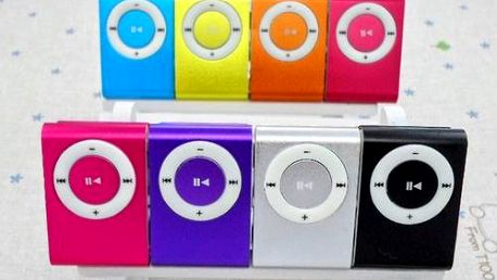 MP3 přehrávač v 8 barvách