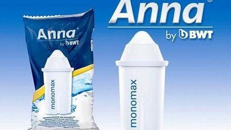 Vodní filtr Anna Monomax 3 ks do filtračních konvic!