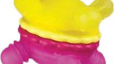 MUNCHKIN Růžovo-žlutý kousátko - otáčivý ježeček