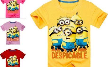 Tričko Mimoni pro holky i kluky - 9 barev