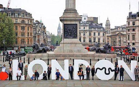 5denní poznávací zájezd pro 1 do Londýna s prohlídkou města a ubytováním včetně snídaně