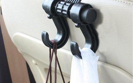 Univerzální věšák do auta pro větší pohodlí!