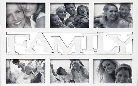 Multi-fotorámeček na 6 fotografií Family & Friends