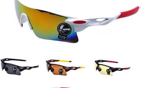 Skvělé unisexové cyklistické brýle v několika barevných variantách!