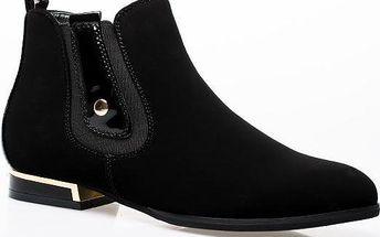 Kotníkové boty 6735-1B 38