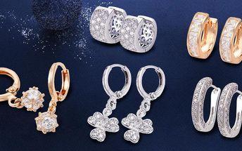 Nádherné rhodiované či pozlacené šperky Prime Collection se třpytivými zirkony