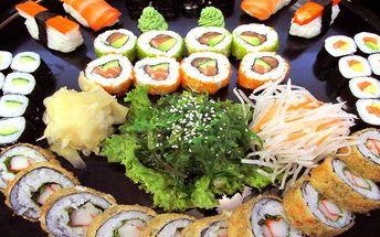 Sushi hostina pro milovníky asijské kuchyně