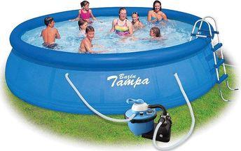 Marimex Bazén Tampa 4,57x1,07 m s pískovou filtrací - 10340043 + doprava ZDARMA
