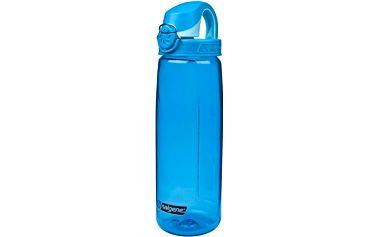Láhev na vodu Nalgene OTF 750 ml glacial blue/glacial cap