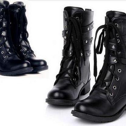 Dámské kožené boty - velikosti 35 - 42