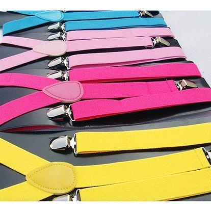 Unisex kšandy ve 28 atraktivních barvách
