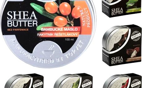 Bambucké máslo Shea Butter 100% 100 ml!