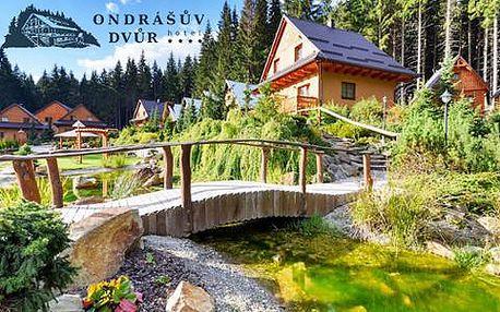 Wellness resort Ondrášův Dvůr **** v Beskydech s polopenzí a volným vstupem do Thermal parku