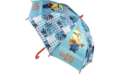 Disney Brand Dětský deštník Mimoni - modro-zelený