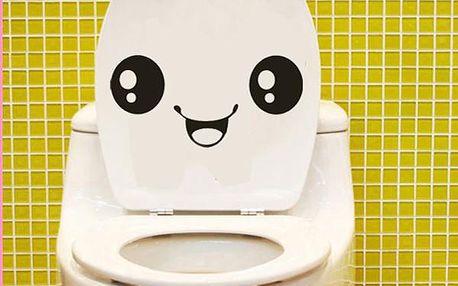Usměvavý smajlík - dekorační samolepka se hodí opravdu kamkoliv!