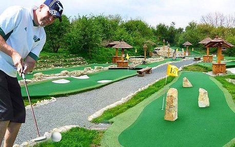 Celodenní vstupné na putting golf