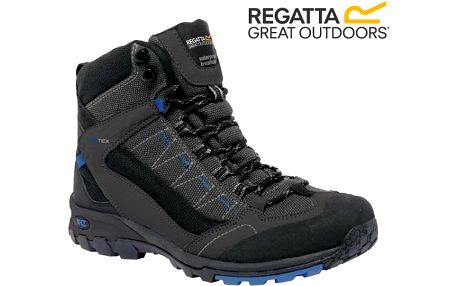 Pánské trekové boty Regatta RMF456 ULTRA-MAX II MID Iron/OxfBlue 46