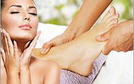 Kosmetické ošetření a reflexní masáž plosek nohou nebo depilace lýtek! Jarní kosmetický balíček pro Vás!