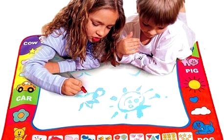 80 x 60 cm dětská kreslící podložka - skladovka