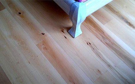 Nejlevnější dřevěné prkno - buk rustic olej