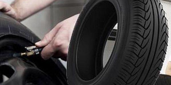 """Kompletní přezutí pneumatik do 16"""" včetně vyvážení za super cenu!"""