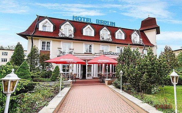 3–6denní pobyt s polopenzí a solnou jeskyní v hotelu Berlín v Mariánkách pro 2 osoby