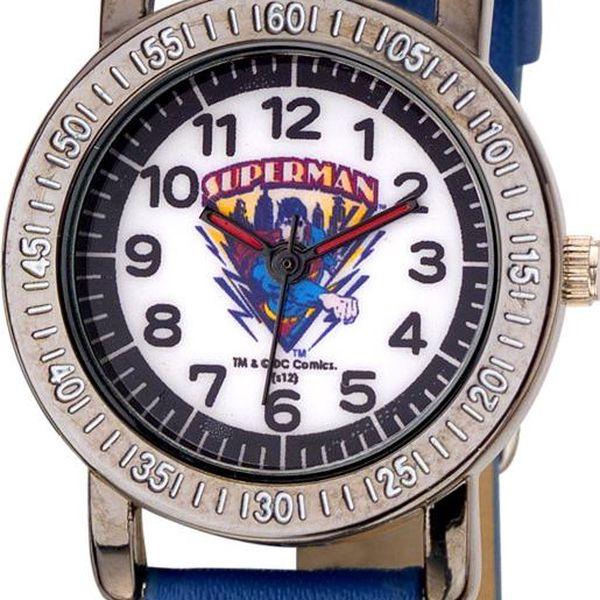 TM & DC comics Chlapecké hodinky Superman, Modrá