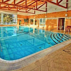 Wellness pro dva v Mariánkách, bazén neomezeně