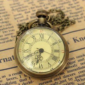 Retro kapesní hodinky ve zlaté barvě