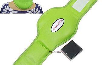 Vibrační pás na krk pro uvolnění napětí - skladovka - poštovné zdarma