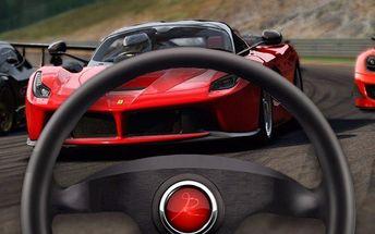Individuální lekce jízdy v závodním simulátoru