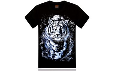 Pánské triko s tygrem