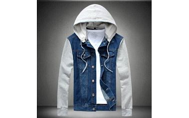 Pánská jeans bunda - M - 5XL