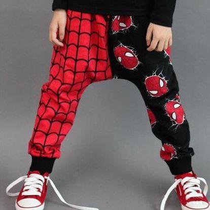 Dětské tepláky Spiderman - 2 barvy - 5 velikostí