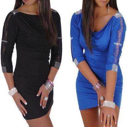 Večerní šaty nebo delší top - 2 barvy