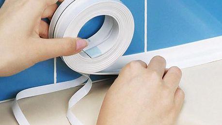 PVC lepicí páska v bílé barvě - dodání do 2 dnů