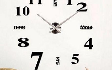 Originální hodiny na zeď - 9 barev